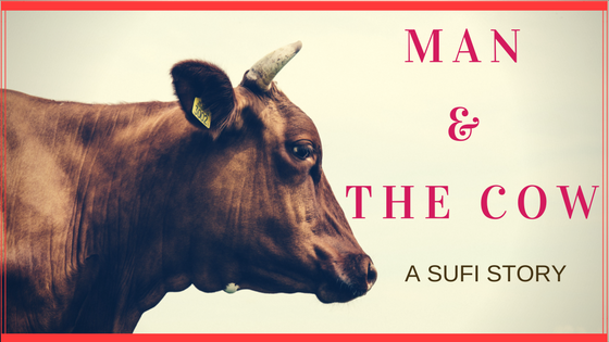 MAN AND THE COW MANOJ LEKHI