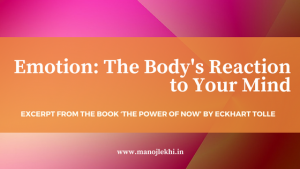 The Body's Reaction to Your Mind