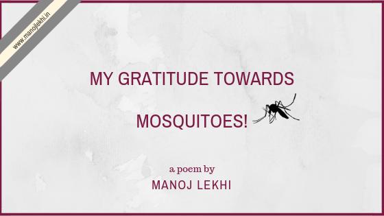 Mosquitoes, Mosquitoes, Mosquitoes