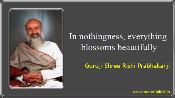 """""""In Nothingness,Everything Blossoms Beautifully"""""""