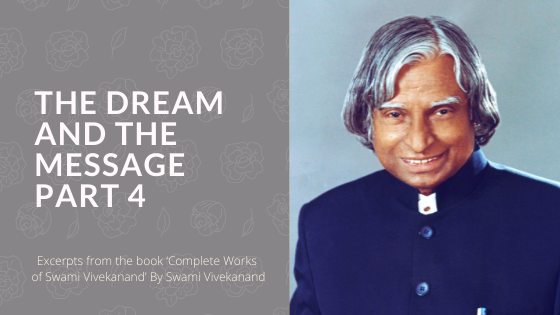 The Dream and the Message  – Part 4